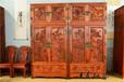 王義紅木緬甸花梨頂箱柜,哈爾濱王義紅木紅木衣柜頂箱柜免費保養