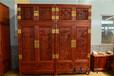 濟寧王義紅木紅木衣柜頂箱柜真貨,大紅酸枝衣柜
