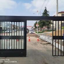 郑州二七区平移门安装施工,门禁平移门图片