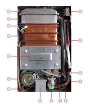 滁州瑯玡區櫻雪熱水器快速上門維修電話,櫻雪燃氣熱水器圖片