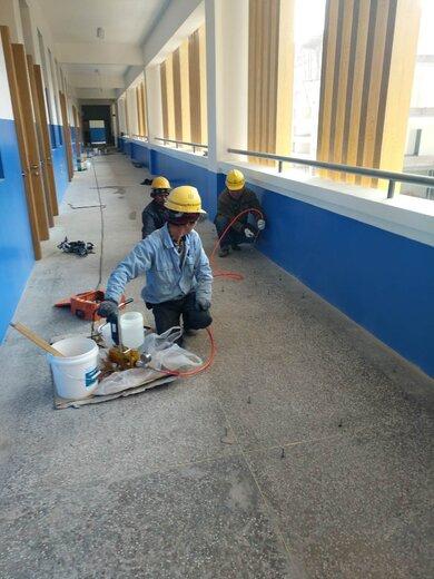 天津細石混凝土地面空鼓修復案例