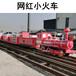 定制軌道小火車服務周到,騎乘式軌道小火車