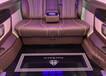 新界奔馳V260定制電動沙發床,奔馳威霆升級電動沙發床