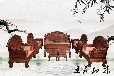 身份象征王義紅木大紅酸枝沙發天然木雕,老紅木沙發
