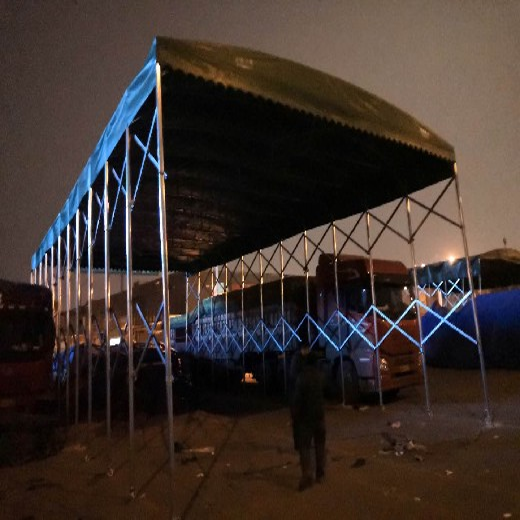 安康活動式雨棚活動雨棚雨篷設計合理