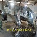 港粵雕塑玻璃鋼抽象雕塑,制造玻璃鋼電鍍樣式優雅