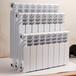 濱州高壓鑄鋁散熱器安裝壓鑄鋁暖氣片,壓鑄鋁雙金屬雙水道散熱器