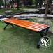 德州塑木公園椅,防腐木圍樹椅