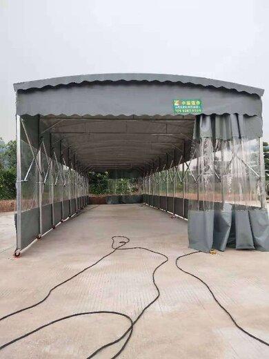 中山大排檔雨棚效果圖,伸縮雨棚