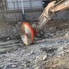 液壓挖機改鋸石機,礦山圓盤巖石鋸、液壓巖石鋸、板材切割鋸
