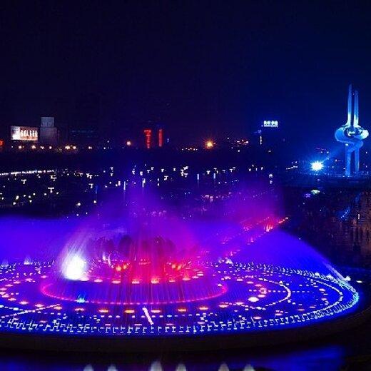 圣仑旱喷泉,精美圣仑广场喷泉