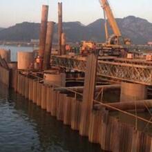 珠海市承接鋼板樁型號規格,拉森鋼板樁圖片