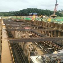 深圳定制鋼板樁引孔施工圖片