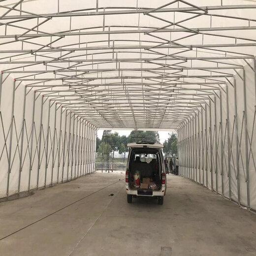 淮安大型仓储雨棚厂家,伸缩式仓储雨棚