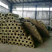 PVC保温岩棉保温管价格,防火保温岩棉管图片