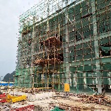 塘廈鎮單排竹架施工方案靈活圖片