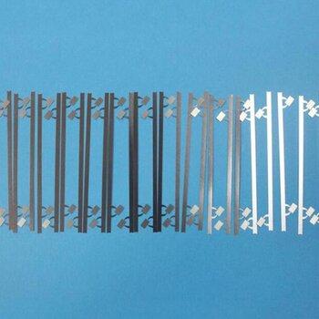 华诺激光狭缝补强钢片、镀镍补强钢片、铝箔补强板,个性生产镀镍补强钢片激光微纳加工