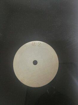 华诺激光超薄狭缝片激光加工,激光切割物理实验狭缝片个性加工