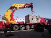 重汽折臂式吊車,重汽120、150噸重汽折臂吊車生產廠家