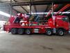 程力新款五橋130、150噸重汽折臂吊車生產廠家電話,折臂式吊車