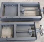 河南濮阳制造海红蕊机械手动刀型阀电动插板阀厂家直销