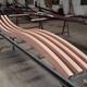 熱門鋁晟焊接弧形拉彎木紋鋁方通鋁方管款式新穎產品圖