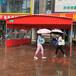 上海手動大排檔推拉棚廠家,排擋雨棚價格