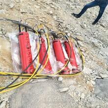 錦州石方開挖液壓分裂機日產量多少方,礦采劈裂棒圖片