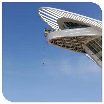 游乐场设备设施高空蹦极设备,80米高空蹦极设备设计制造安装