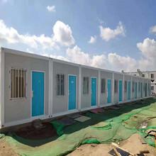 内蒙集装箱彩钢房-彩板房,钢结构厂房租赁图片