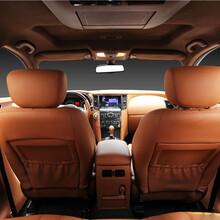 南山奔馳V260L汽車內飾翻新真皮座椅,個性改色圖片