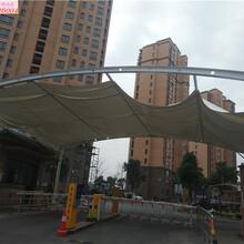 上海東明路防水上海軒譽鋼結構停車棚制作精良,停車棚圖片