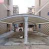上海轩誉膜结构车棚,上海长宁环保上海轩誉钢结构泊车棚维修换布