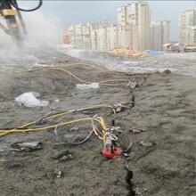 廣東劈石機直銷忻州液壓劈裂棒,劈裂機圖片