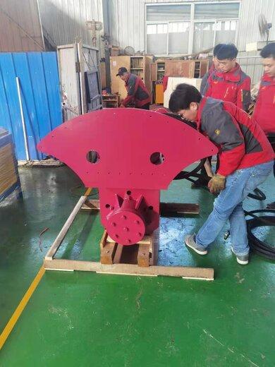 上海金刚石圆盘锯石机岩石锯,挖机改装岩石锯