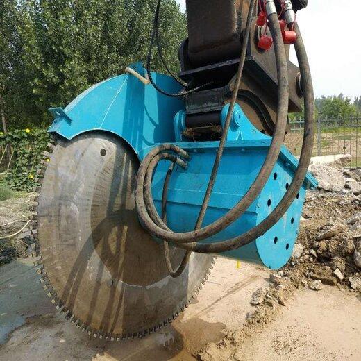 460.液压旋式轨道岩石锯液压岩石锯岩石锯,挖机改装岩石锯