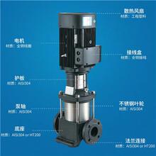 江苏张家港水泵ISG系列热水管道离心泵,南方南元不锈钢立式泵图片