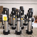 安徽省巢湖市輕型不銹鋼立式多級離心水泵,耐酸堿腐蝕不銹鋼水泵