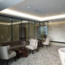 深圳定做辦公室中空百葉玻璃隔墻設計合理,中空百葉玻璃隔墻圖片