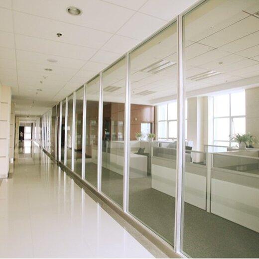 定制辦公室百葉隔墻規格,百葉玻璃隔斷