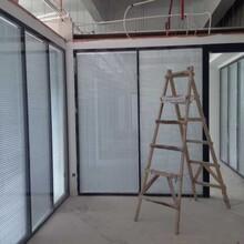 深圳新款办公成品玻璃隔墙厂家直销,成品玻璃隔断墙图片