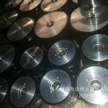 大理耐压铝材生产线胶轮,pu胶轮图片