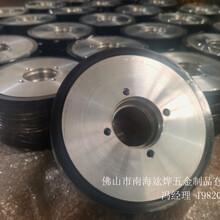 丽江订制铝材生产线胶轮,铝材挤压机胶轮图片