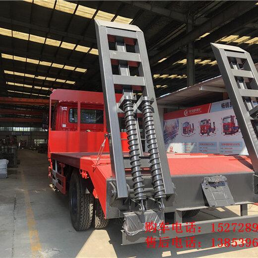 國六12噸平板拖車
