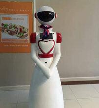 厂家直销智能送餐迎宾机器人服务员餐厅全自动多功能