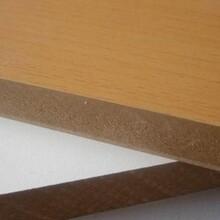 直销高密度板18mmE1级纤维板家居板橱柜门板材料图片
