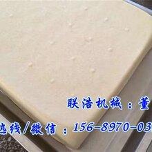 衡水自动豆腐机全自动豆腐干机自动豆腐机多少钱一套图片