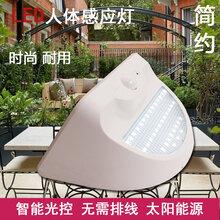 LED太阳能灯户外超亮LED家用室外防水感应灯庭院景观壁灯太阳能路灯图片