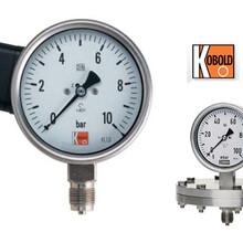 KOBOLD不锈钢隔膜式压力表DPF76系列