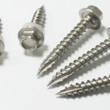 304不锈钢六角尖尾螺丝图片